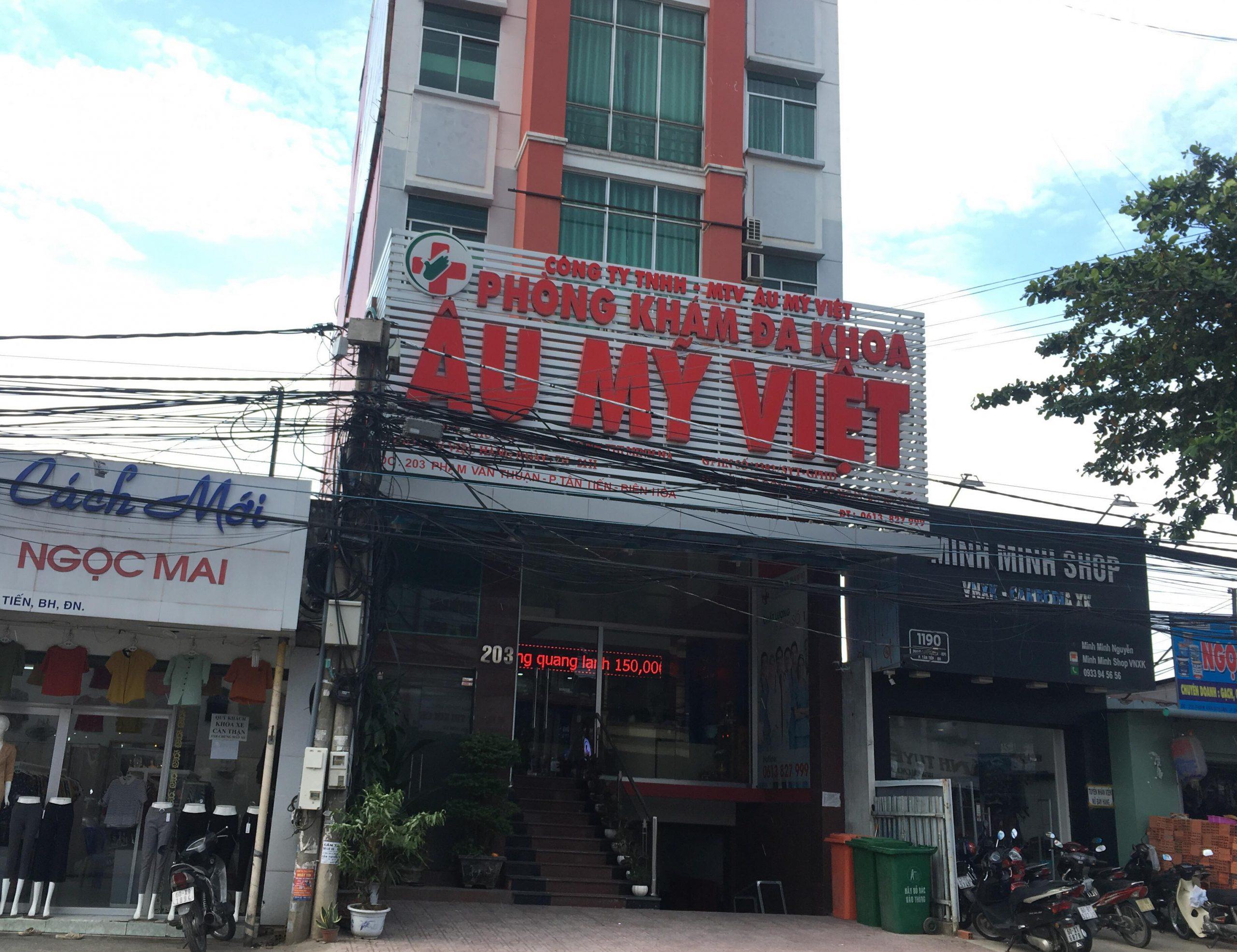 Phòng khám đa khoa Âu Mỹ Việt bị xử phạt gần 90 triệu đồng
