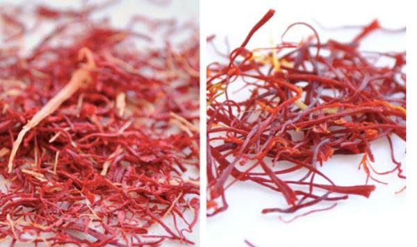 Sự thật Saffron (nhuỵ hoa nghệ tây) giá trăm triệu làm giả từ bột nghệ và hoá chất