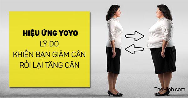 Tác hại của hiệu ứng yoyo ảnh hưởng đến sức khỏe như thế nào?