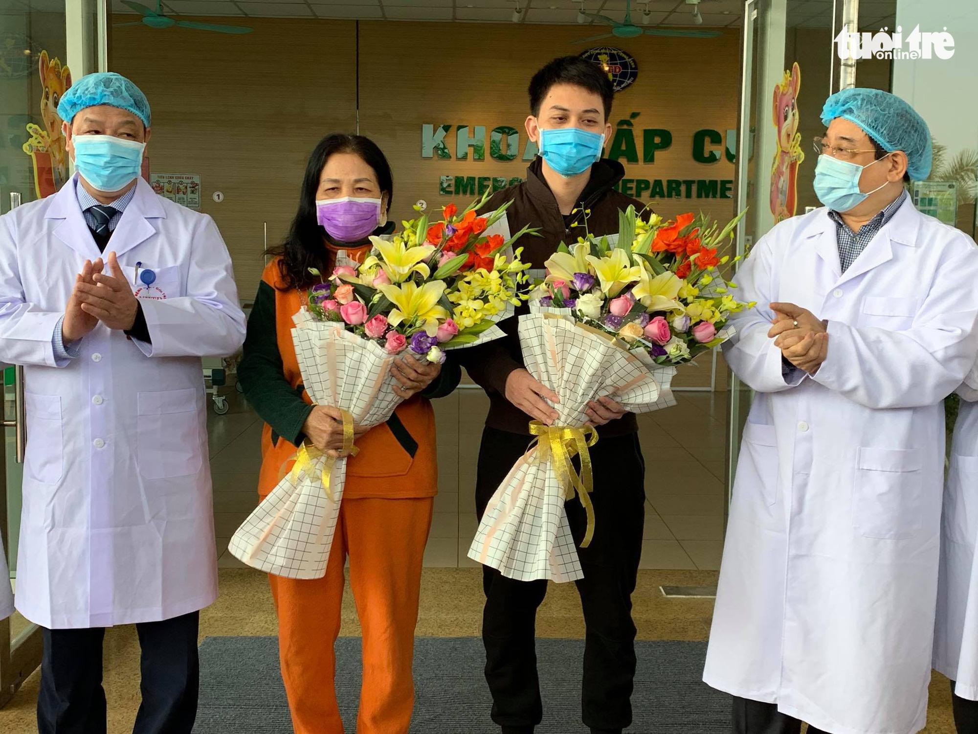 Thêm hai bệnh nhân Vĩnh Phúc khỏi COVID-19 được xuất viện