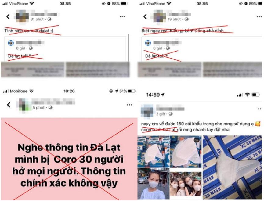 3 học sinh bị triệu tập do phát tán thông tin sai lệch về COVID-19