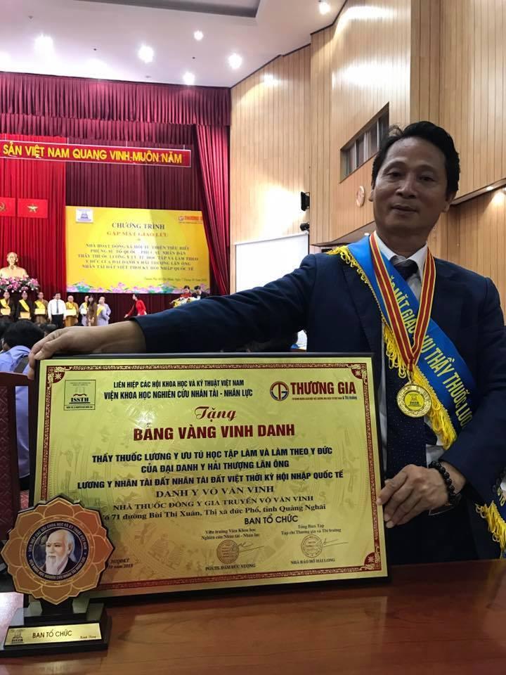 Lương y Võ Văn Vinh – Chuyên gia hàng đầu về chữa trị vảy nến
