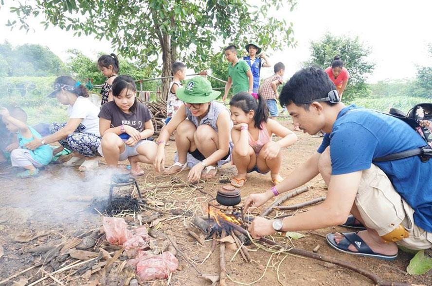Du lịch nông nghiệp sinh thái ở vùng ven Hà Nội hút khách