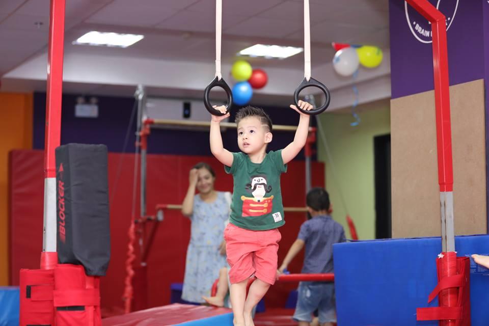 Xu hướng cho con đi tập gym ngày nay phổ biến như thế nào?