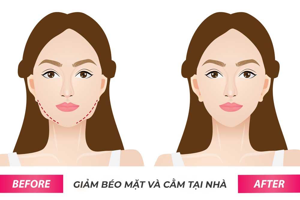 Cách giảm mỡ mặt mà ai cũng có thể áp dụng ngay