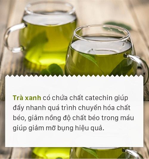 Phương pháp giảm cân bằng trà xanh và những lưu ý khi áp dụng