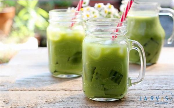 Cách làm trà sữa thái xanh bằng bột trà xanh cả nhà đều mê