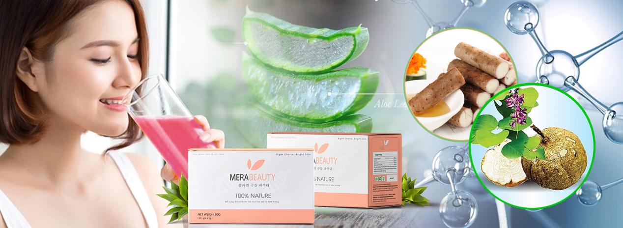 MeraBeauty – Giải pháp tăng cường collagen và nội tiết tố từ thiên nhiên cho chị em phụ nữ