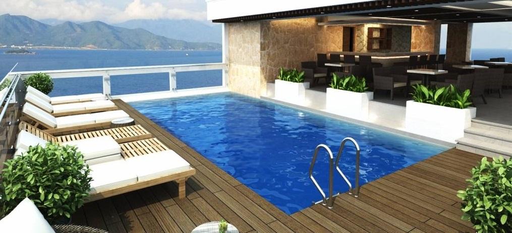 Để xây dựng bể bơi trên sân thượng sẽ không thể bỏ qua những lưu ý sau