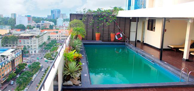 Nội thất 117 thi công bể bơi và phòng xông trên tầng thượng