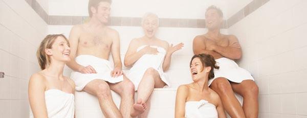 Biến nhà tắm thành phòng xông hơi chăm sóc sức khỏe gia đình