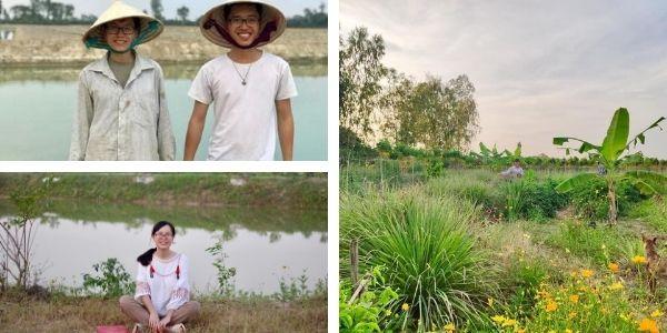 Vợ chồng 9x từ Israel về vùng quê hẻo lánh ở Việt Nam làm nông nghiệp không hóa chất, làm bạn với ruộng vườn
